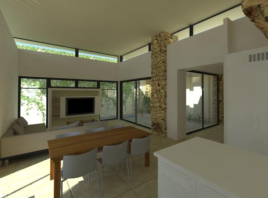 תכנון בית מגורים בנגב הצפוני - עם שימוש חכם באור טבעי